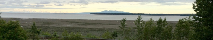 View from Elderberry Park in Anchorage