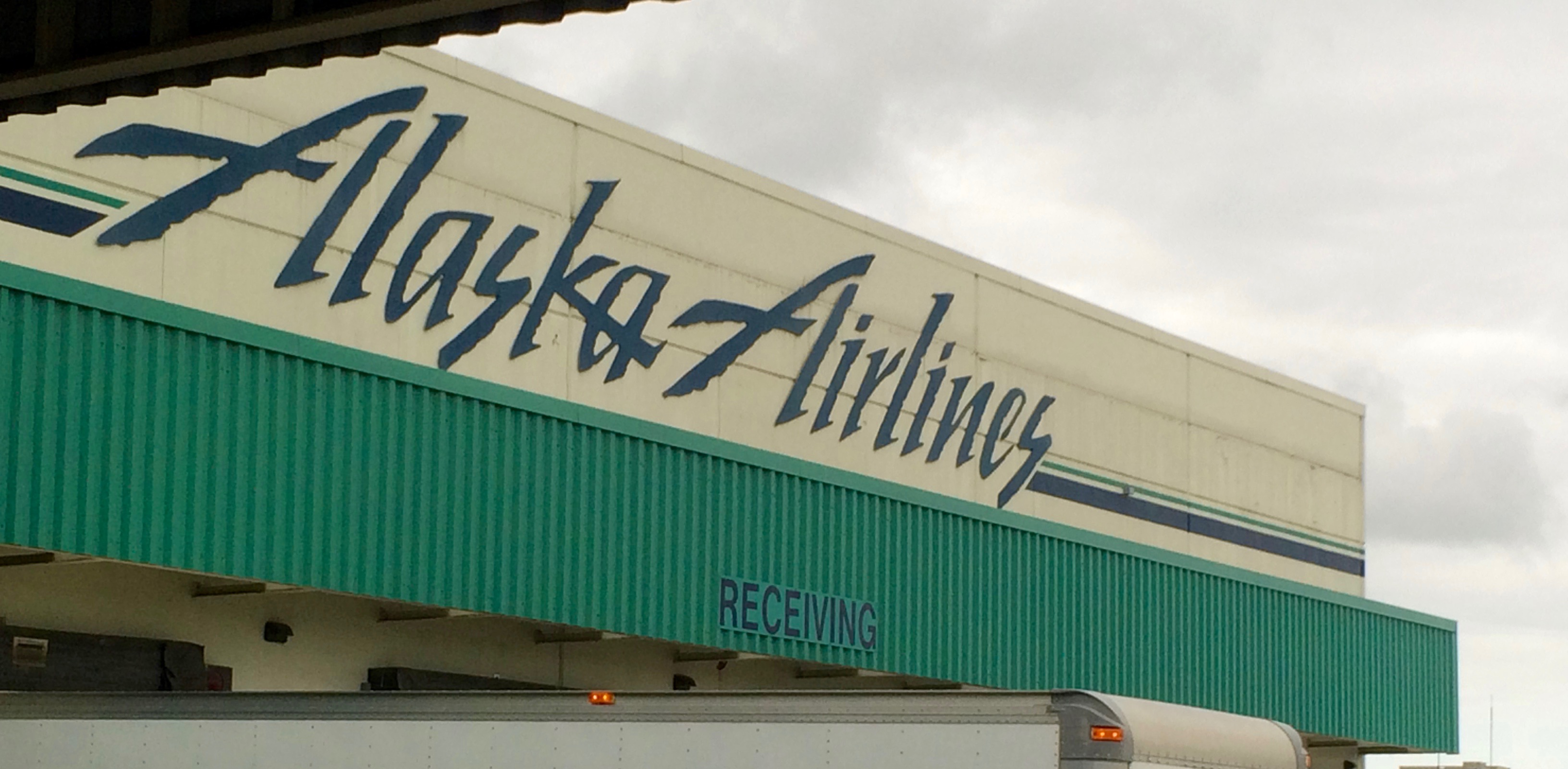 Alaska Air Cargo dock