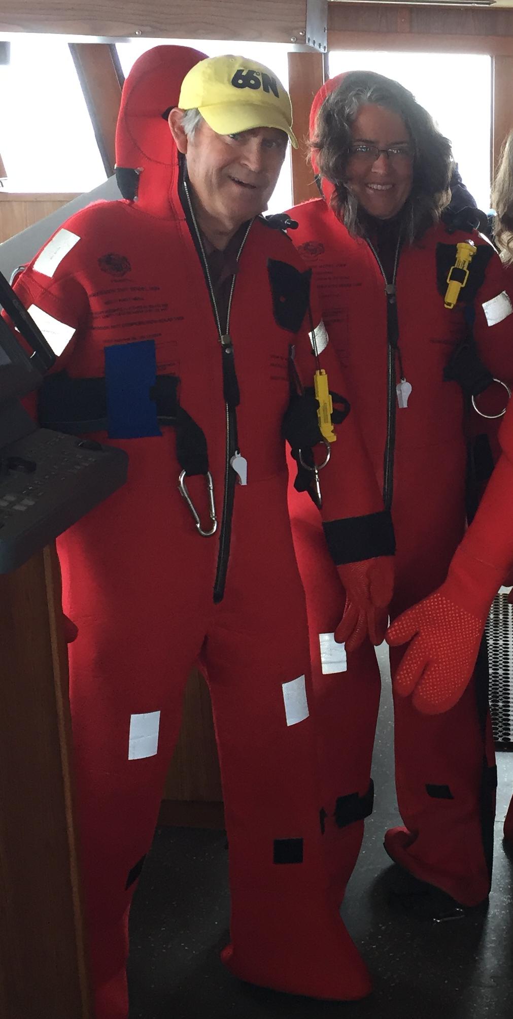 Flotation suits